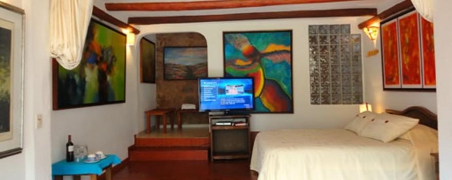 Habitacion Romeo y Julieta. Fuente: suitesarcoiris.com
