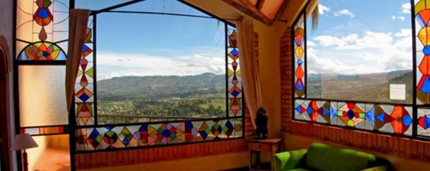 Habitacion Sol y Luna. Fuente: suitesarcoiris.com